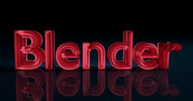 Blender 3D Text