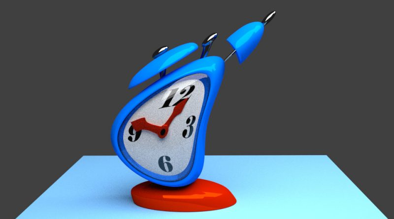 Blender Alarm Clock Animation