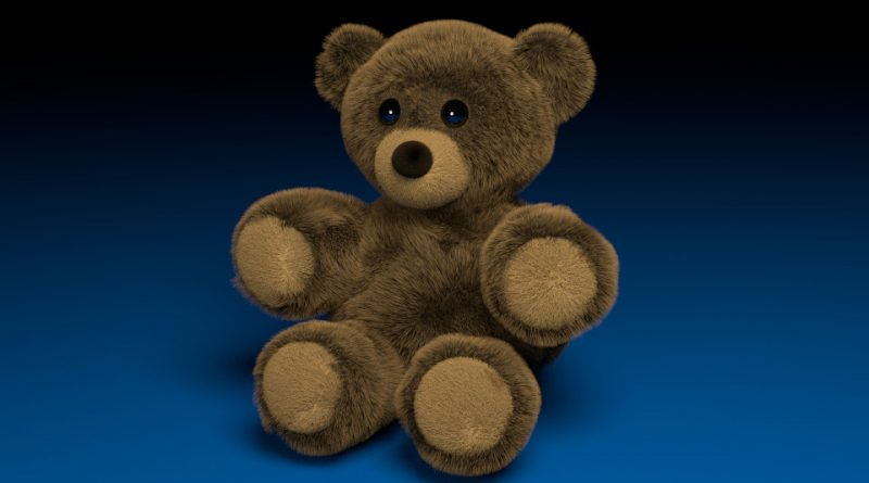 Blender Tutorial – Fuzzy Stuffed Bear