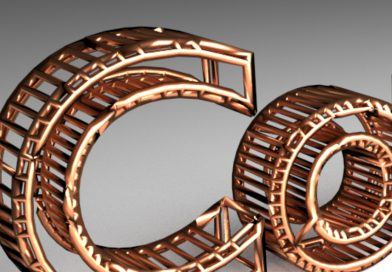 Blender Tutorial – Copper Wire Text