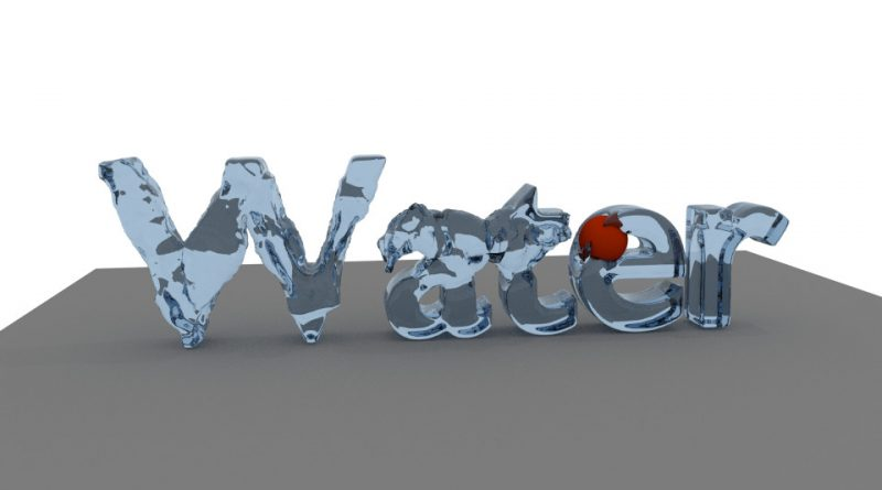Blender Liquid Text