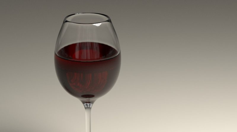 Blender Morphing Wine Glass