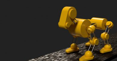 Blender Robot Dog