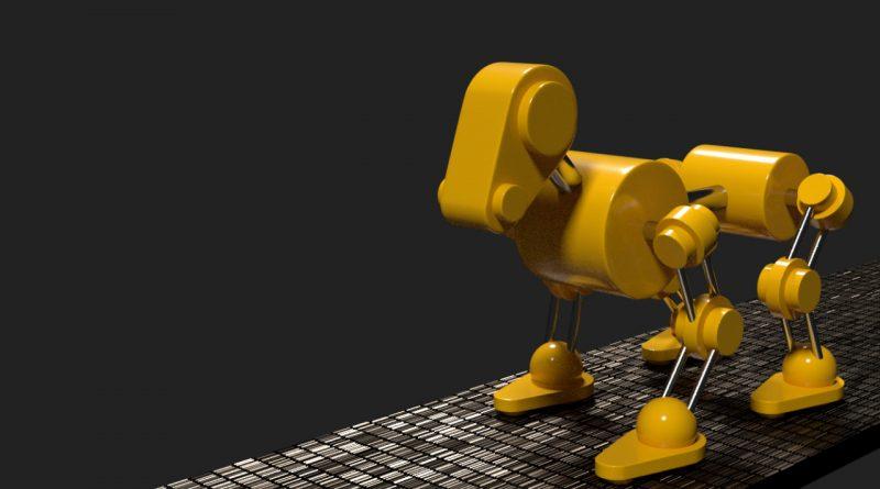 Blender Robot Dog