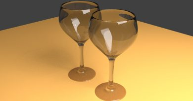 Blender Wine Glasses