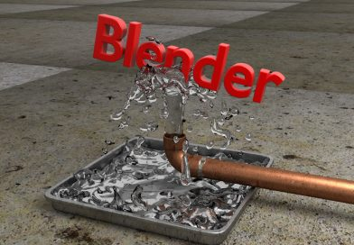 Blender Tutorial – Water Balancing Text Animation