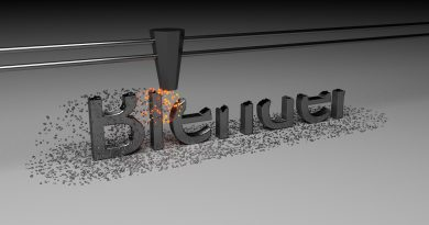 Blender Metal Machine