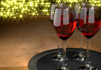Blender Wine Glasses Denoising