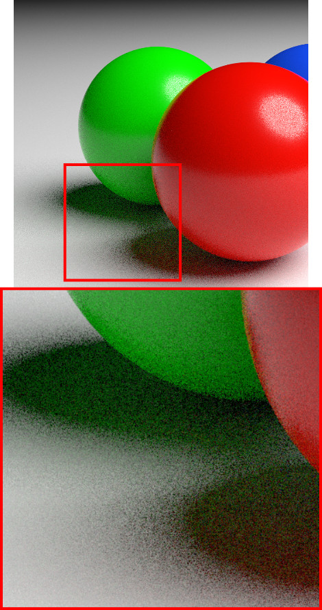 Spheres Denoising Disabled 25 Samples