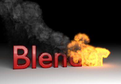Fire Smoke Text