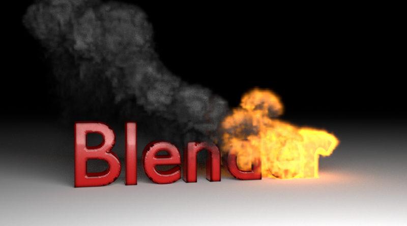 Fire Smoke Text